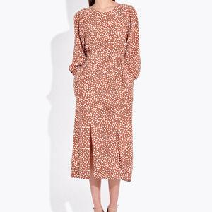 AYR The Petal Dress in Bambi Dot